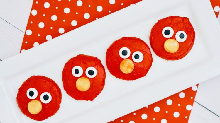 Easy Elmo Cookies Tutorial