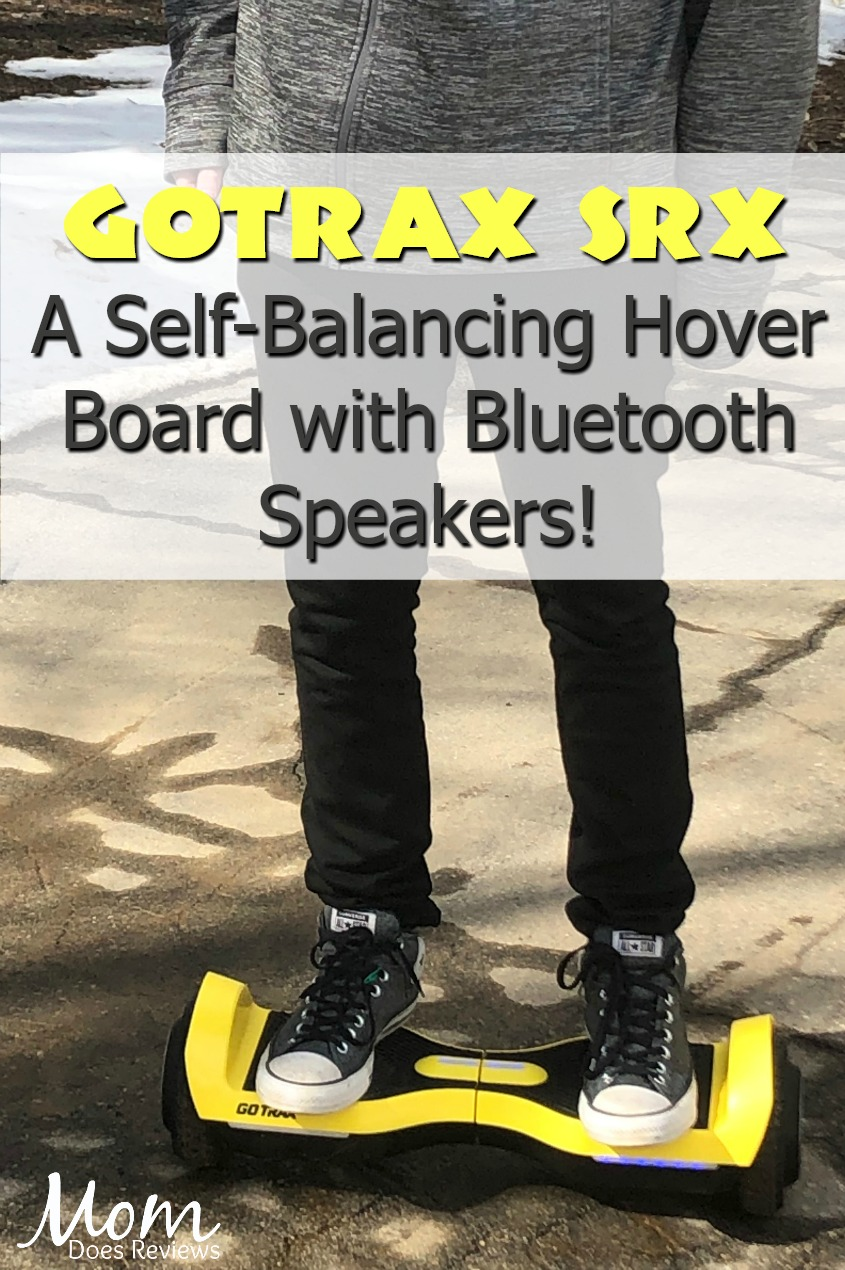 GOTRAX SRX Hoverboard - Self Balancing Hover Board #SpringFunonMDR #review #gotrax