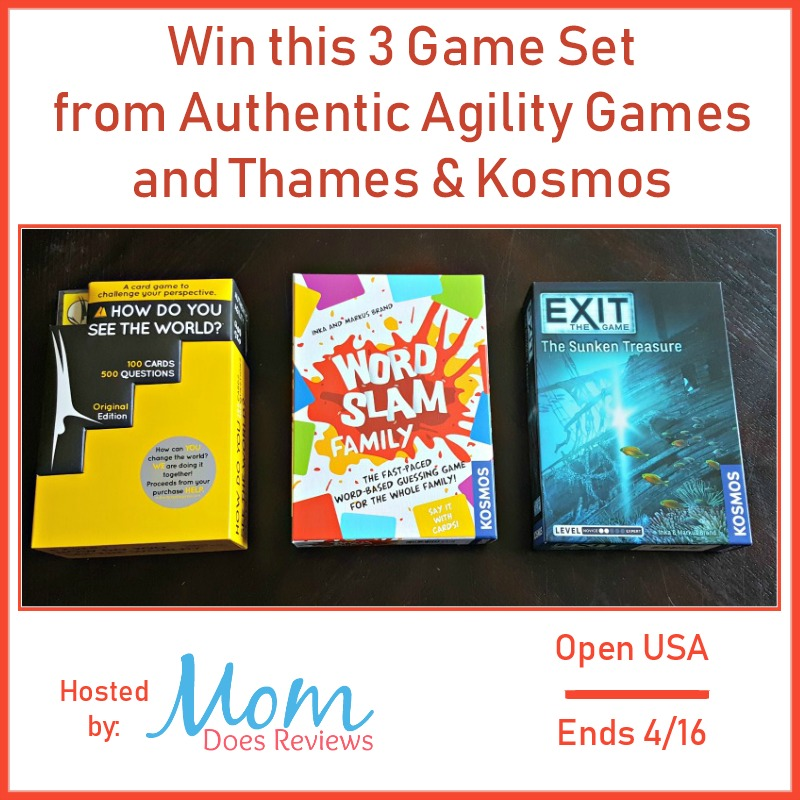 Win 3 Game Set from Authentic Agility Games and Thames & Kosmos