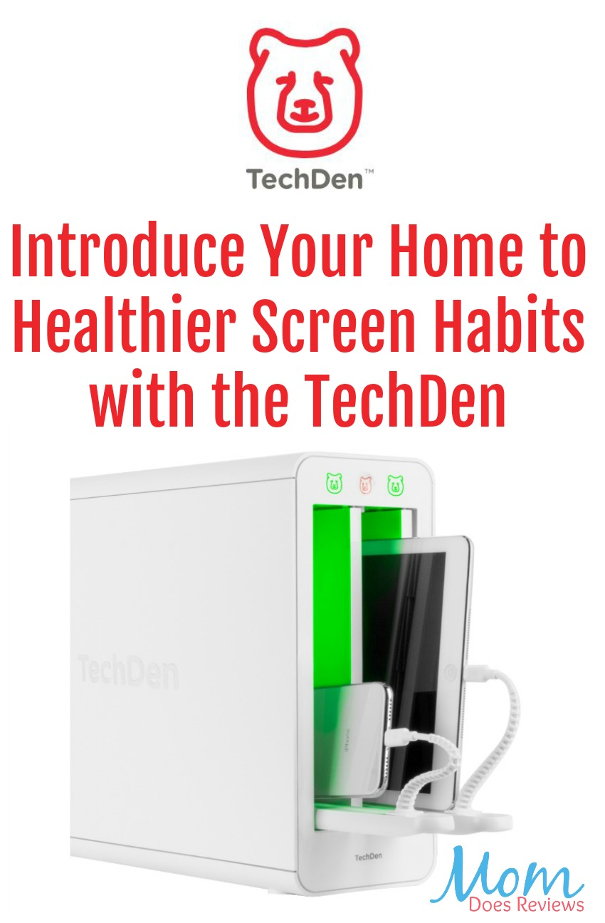 Introduce Your Home to Healthier Screen Habits with the TechDen