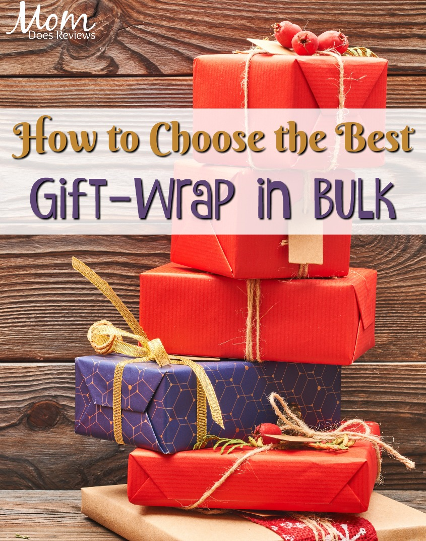 How to Choose the Best Gift-Wrapping Paper in Bulk #gifts #giftwrap #wrappingpaper #presents