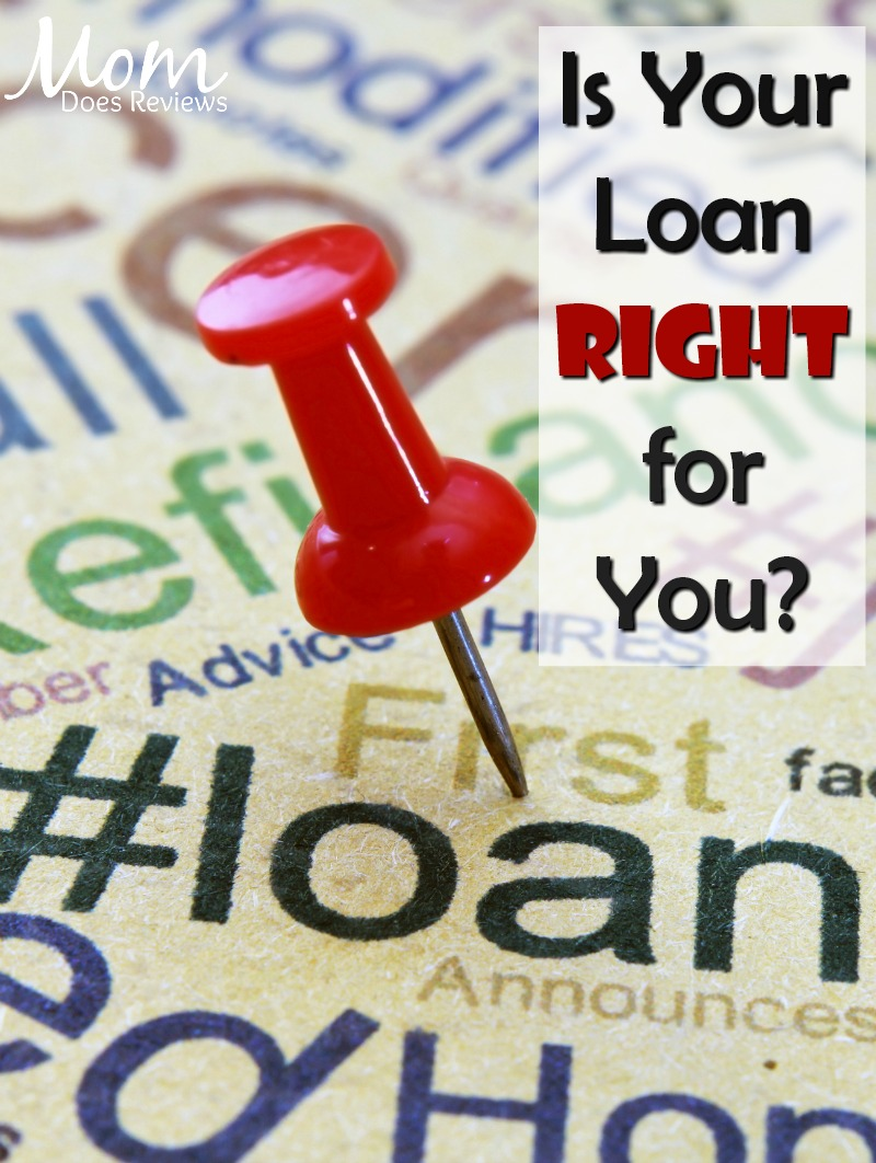 How to Make Sure Your Loan is Right for You #loans #finances #money #budgets