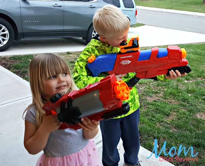 Sugar Free Easter Basket Ideas with Buzz Bee Toys Blasters