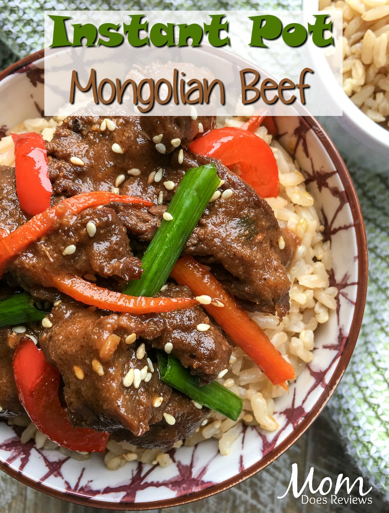 Instant Pot Mongolian Beef #recipe #instantpot #beef #food #foodie