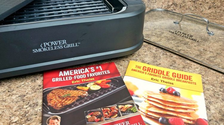 Power Smokeless Grill with Cookbooks