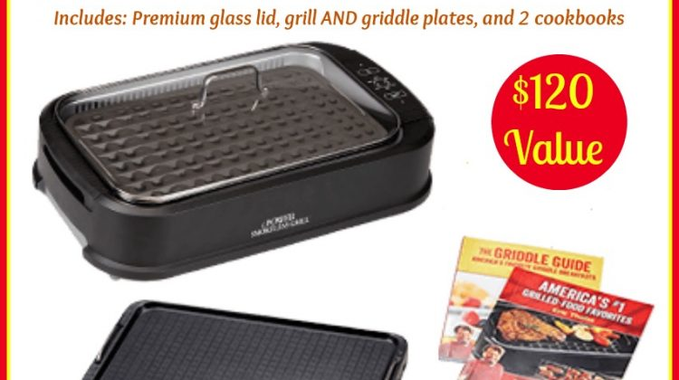 #Win a Power Smokeless INDOOR Grill! #giftsformom19