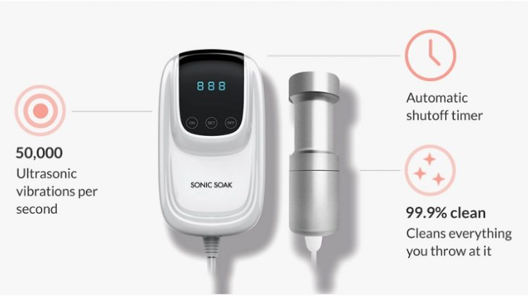 Sonic Soak is the World's Smallest Cleaning Device! #sonicsoak