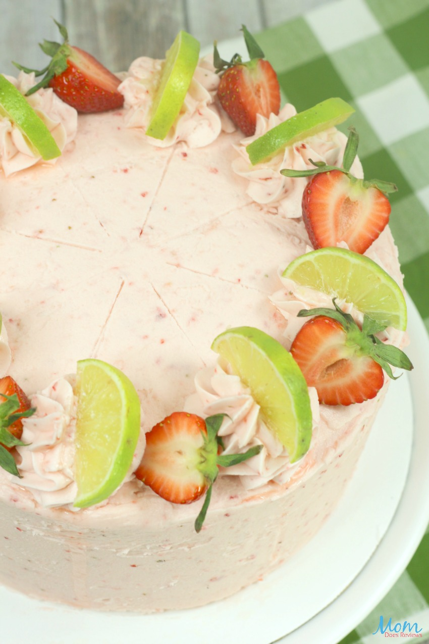 Strawberry Lime Cake Recipe