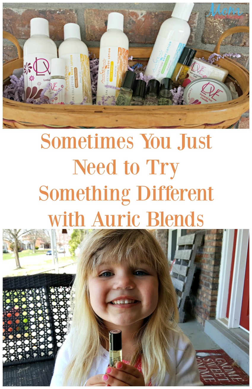 Sometimes You Just Need to Try Something Different with Auric Blends