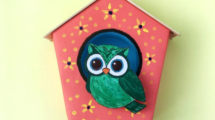 Make your Own Bird House #Craft!