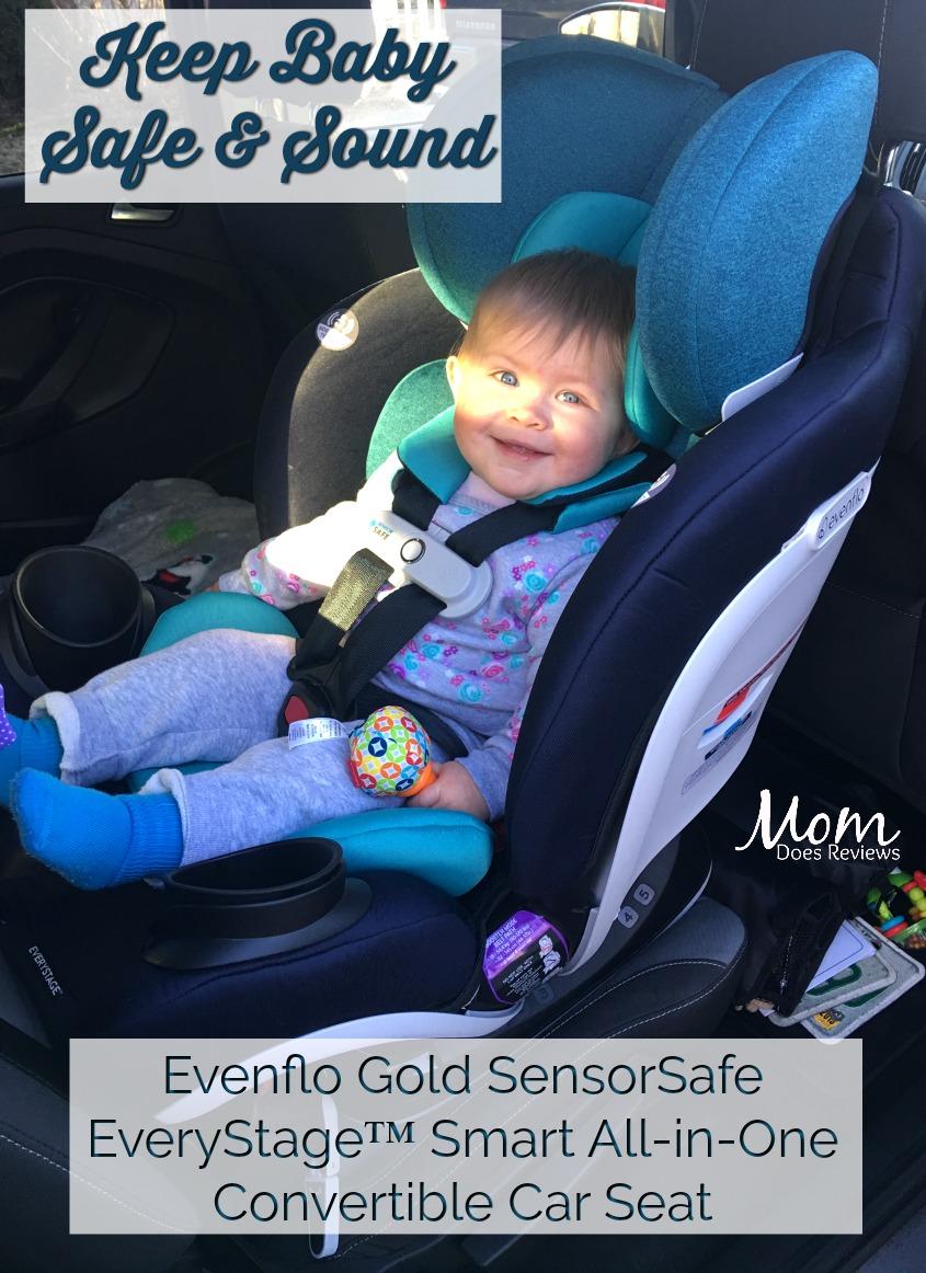 Keep Baby Safe With Evenflo's Gold SensorSafe EveryStage
