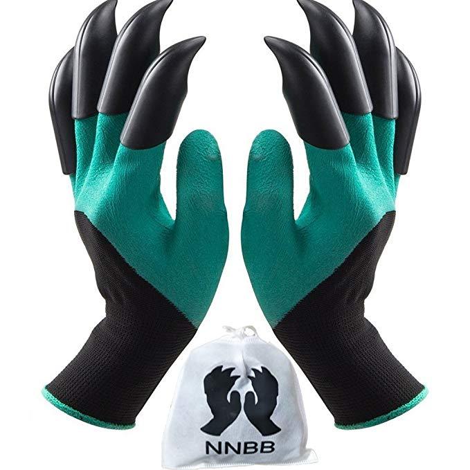 garden claw tip gloves