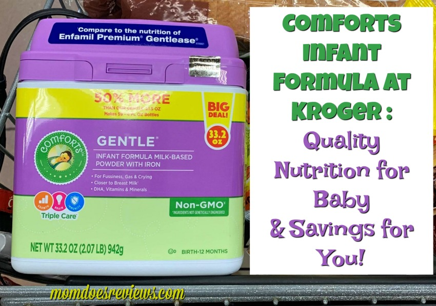 Comforts Infant Formula at Kroger