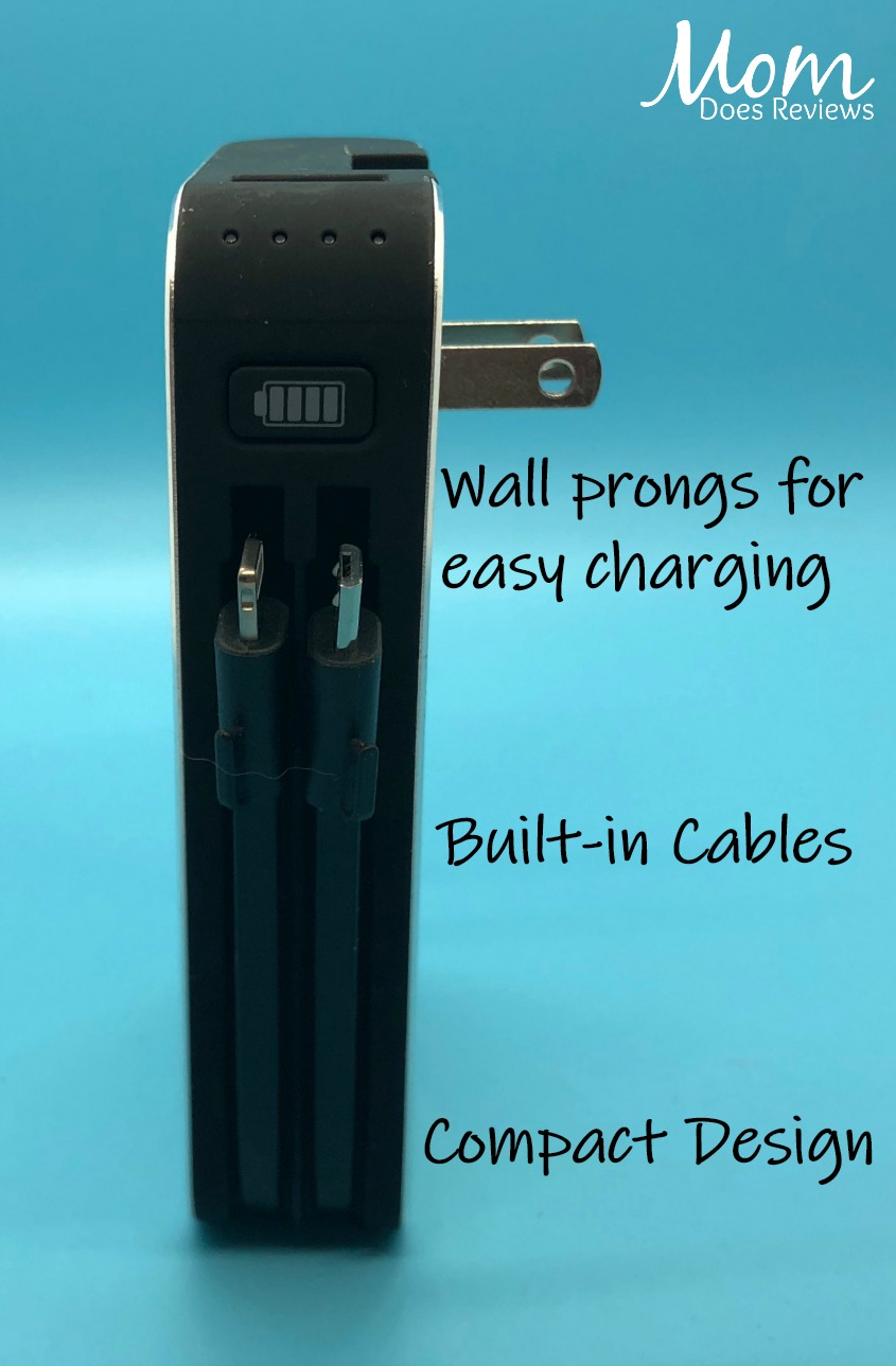 myCharge Hubplus Portable Charger: Hi-Tech Power That Fits in Her Bag