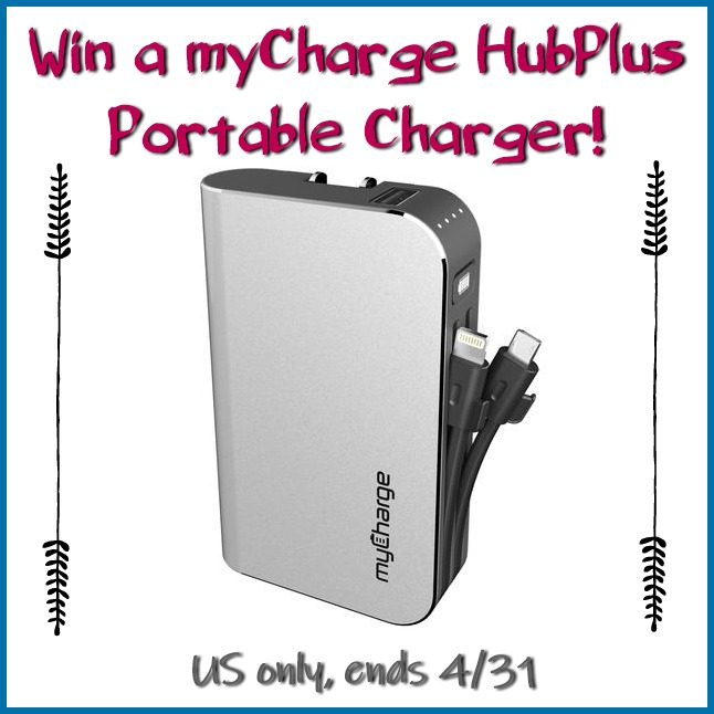 #Win a myCharge HubPlus Portable Charger $80 arv! US ends 4/31 #GiftsforMom19