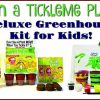 #Win a TickleMe Plant Deluxe Greenhouse Kit for Kids, US, ends 5/3