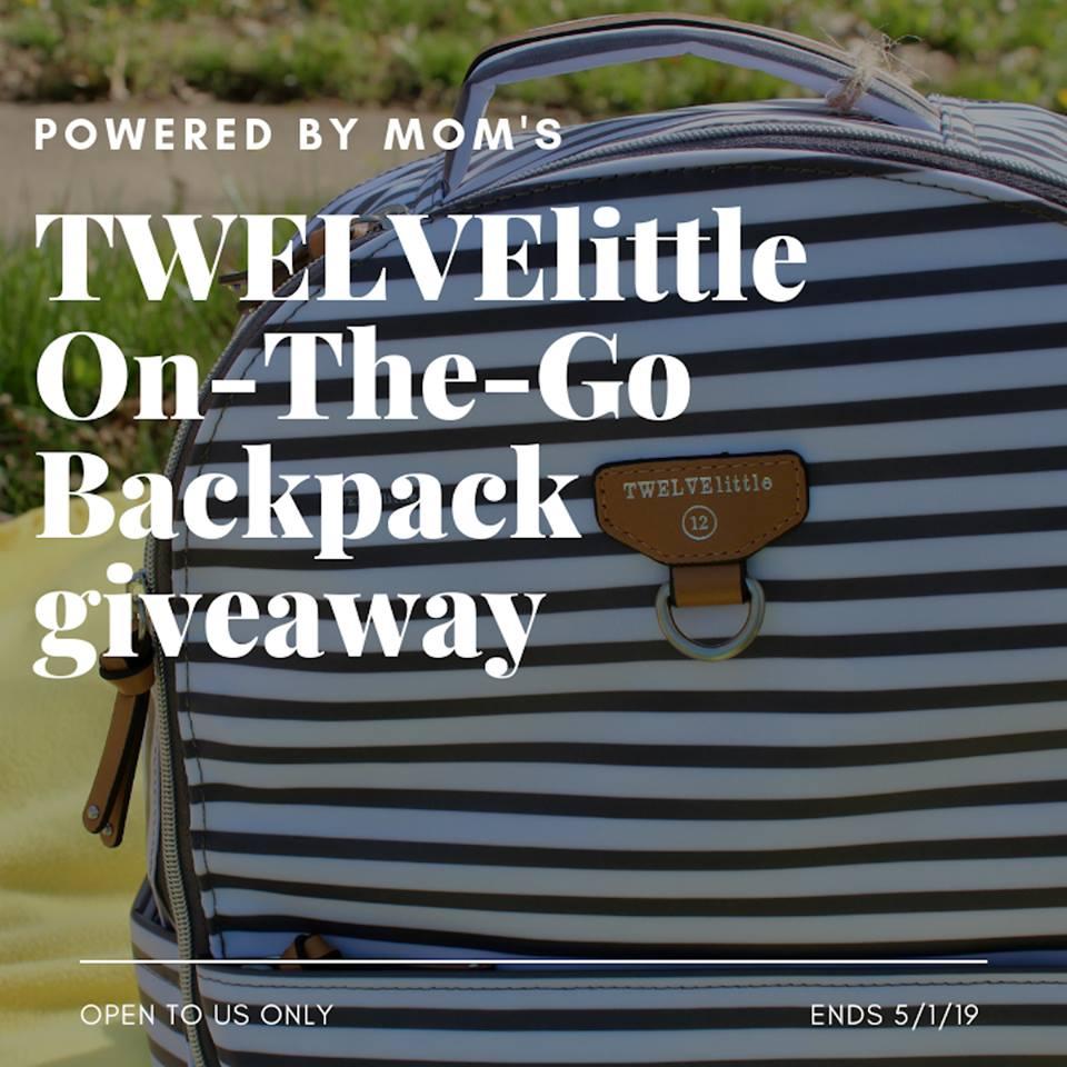 #Win TWELVElittle On-The-Go Backpack ($165 arv) US ends 5/1