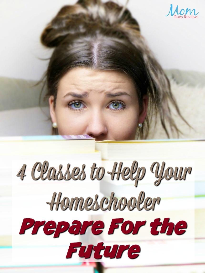 4 Classes to Help Your Homeschooler Prepare for the Future #education #homeschool #career #highschool