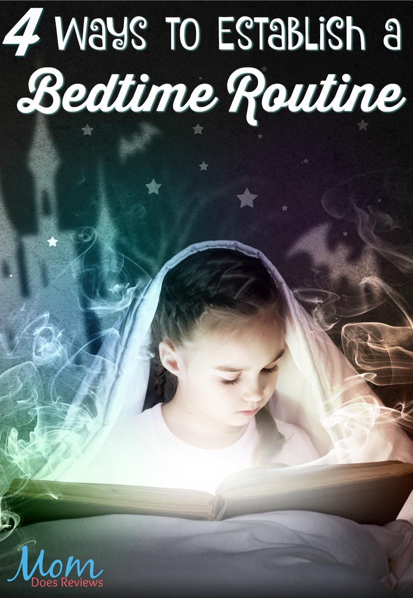 4 Ways to Establish a Nightly Routine for Your Kids #parenting #bedtime #kids #parentingtips