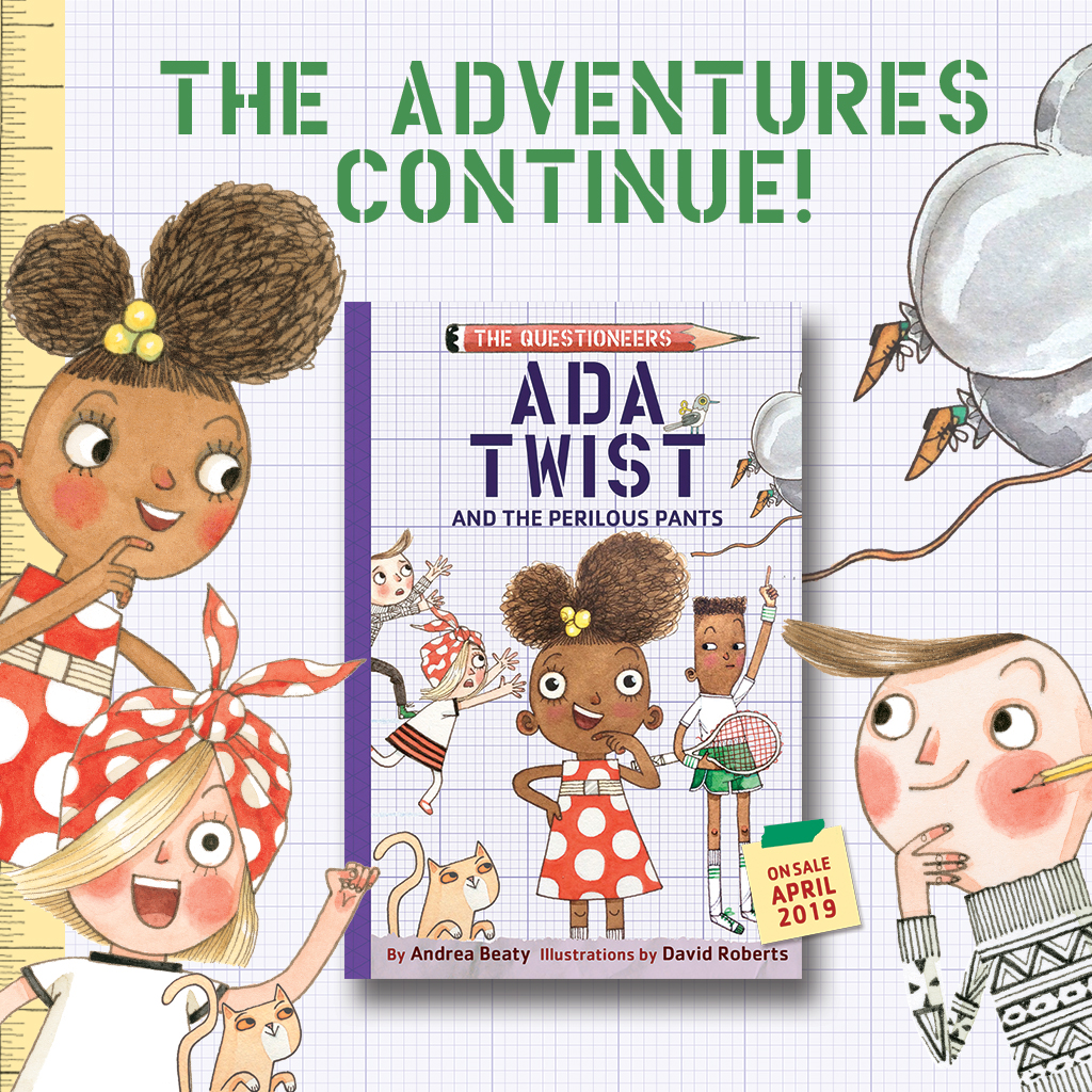 #Win a $50 Hanna Anderson GC and Ada Twist and the Perilous Pants Book! #TheQuestioneers #AdaTwist