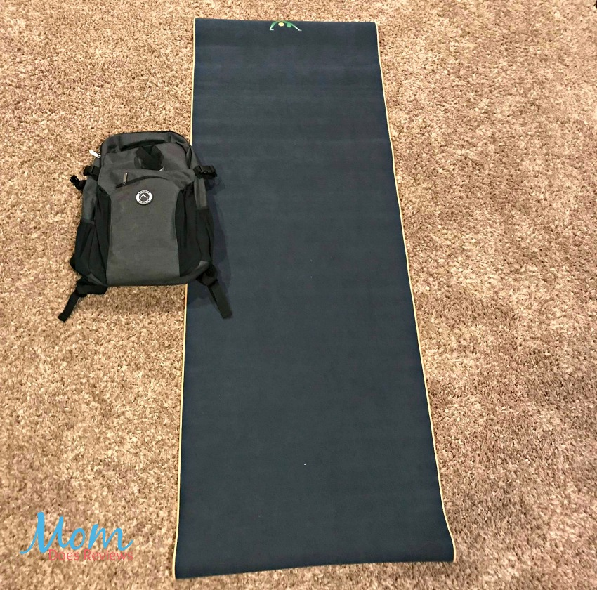 Aurorae Yoga Synergy Yoga Mat Towel Combination In: Invite Dad To Join You In Training With A Aurorae Yoga