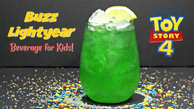 Buzz Lightyear Drink - to Infinity and Beyond!