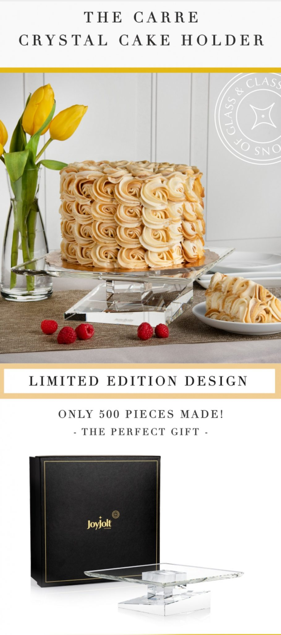 #Win Carre Crystal Cake Holder (APV $350) US only, ends 6/1