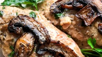 Instant Pot® Chicken Marsala