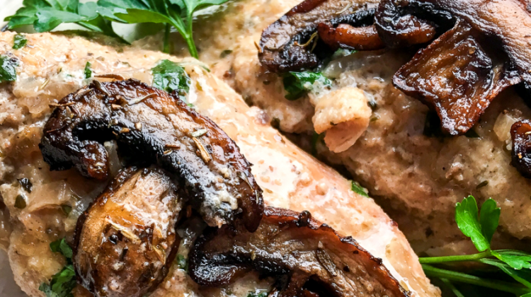 Instant Pot® Chicken Marsala