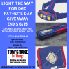 Light the way for dad giveaway