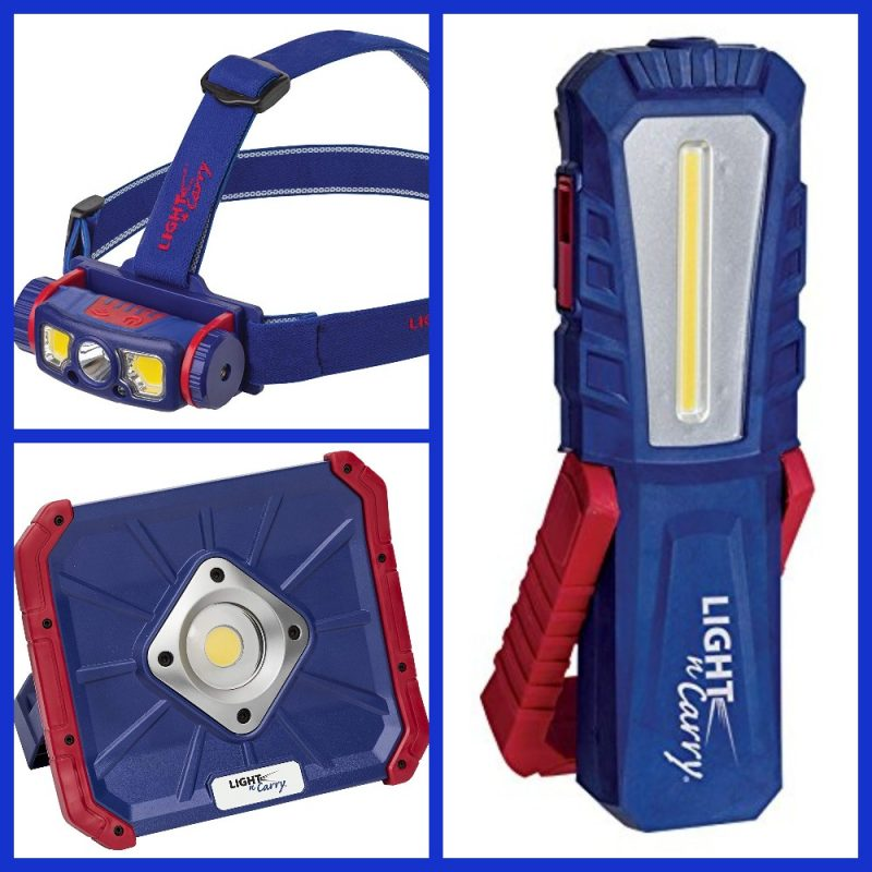 Light the Way for Dad Giveaway- #Win 3 LED Rechargeable Work Lights! US, ends 6/15