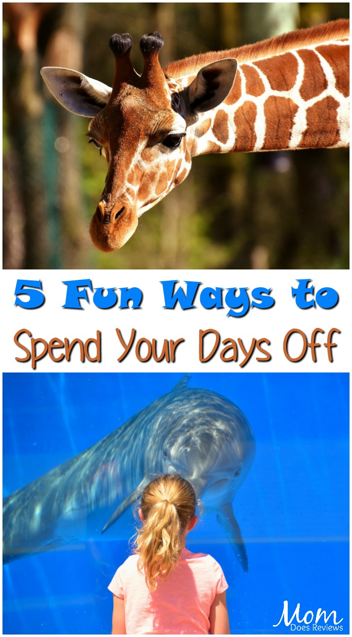 Five Fun ways to Spend Your Days Off of Work #funstuff #dayoff #zoo #aquarium