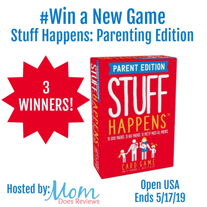 WIN a New Game Stuff Happens: Parenting Edition