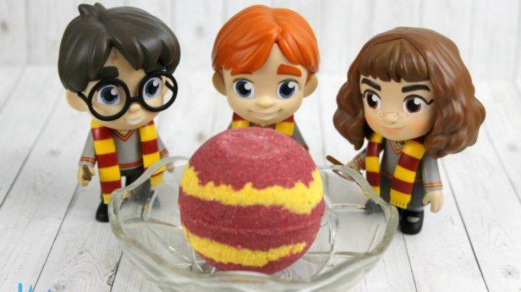 Harry Potter Gryffindor Bath Bombs Recipe