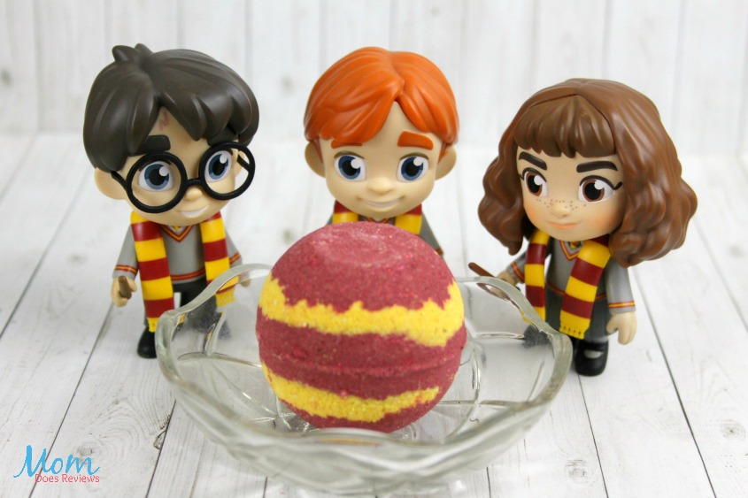 Harry Potter Gryffindor Bath Bombs Recipe