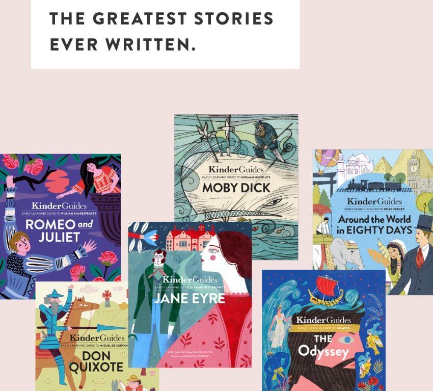 "KinderGuides: ""The Greatest Kids Book Collection Ever"" #Kickstarter"