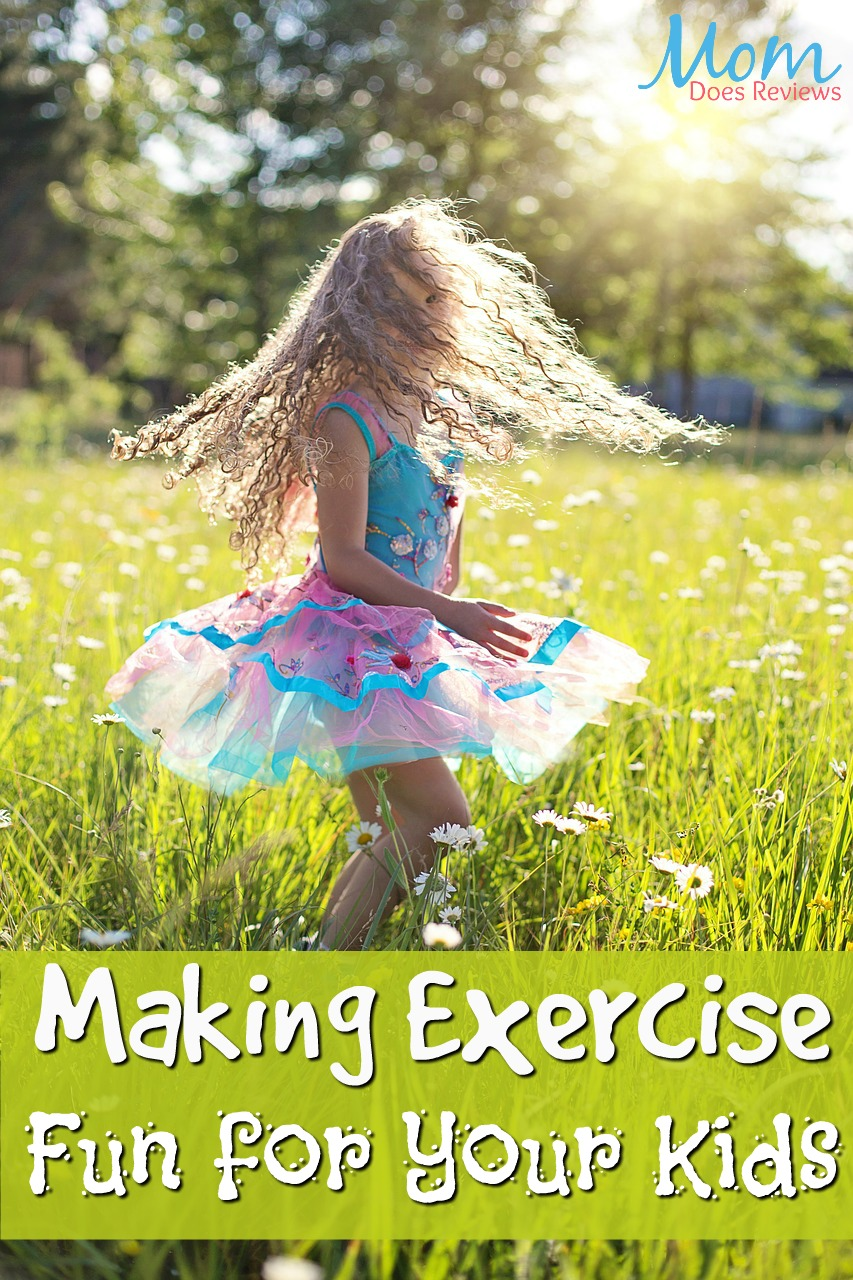 Making Exercise Fun for Your Kids #parenting #getoutside #exercise #fun