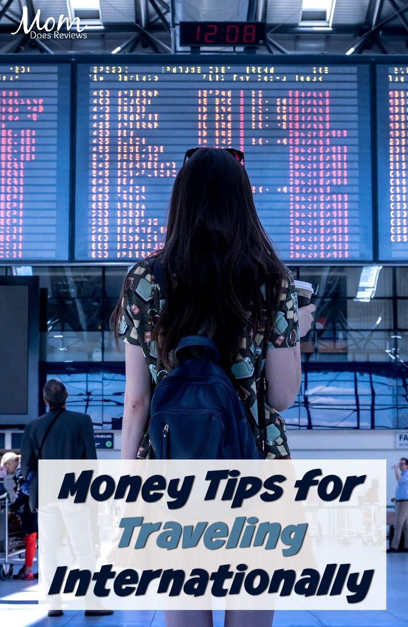 Money Tips for Traveling Internationally #travel #money #traveltips