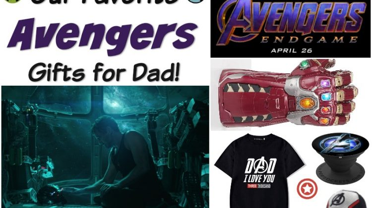 Avengers: Endgame Gifts for Dad #SuperDadGifts19