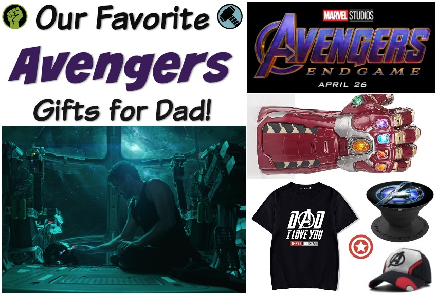 9d909f4e Avengers: Endgame Gifts for Dad #SuperDadGifts19 -