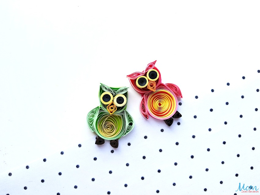 Quilled Owl Craft: A Fun Paper Quilling Craft