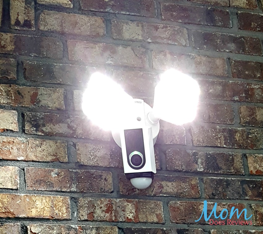 SANSI Lights Help Provide Security for Mom