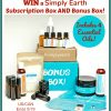#Win a Simply Earth Subscription Box AND Bonus Box! #giftsformom19