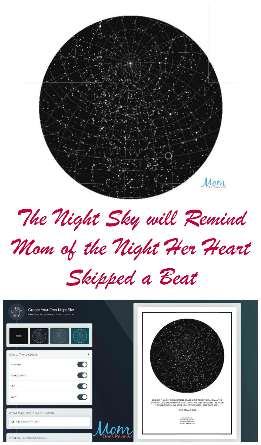 The Night Sky will Remind Mom of the Night Her Heart Skipped a Beat