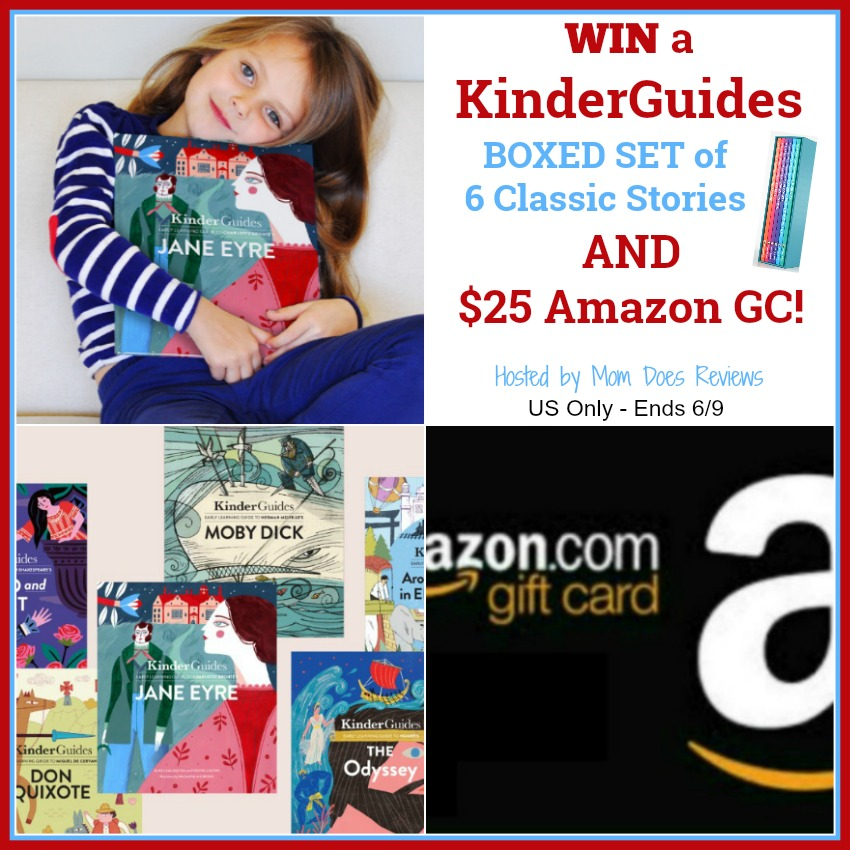 Enter for a chance to #win a KinderGuides Boxed Set of Classic Stories & a $25 Amazon Gift Card!