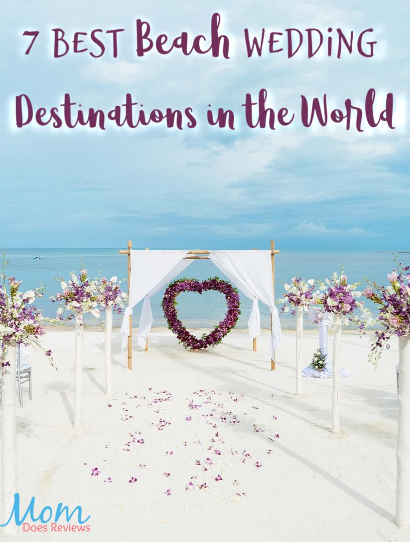 7 Best Beach Wedding Destinations in the World #travel #beach #weddings #destination