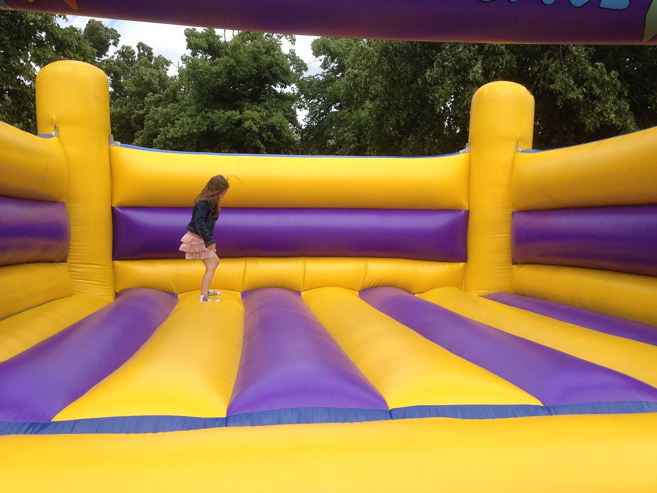 Walking on the Moon is a Cakewalk for Children with Moonwalk Bounce Houses