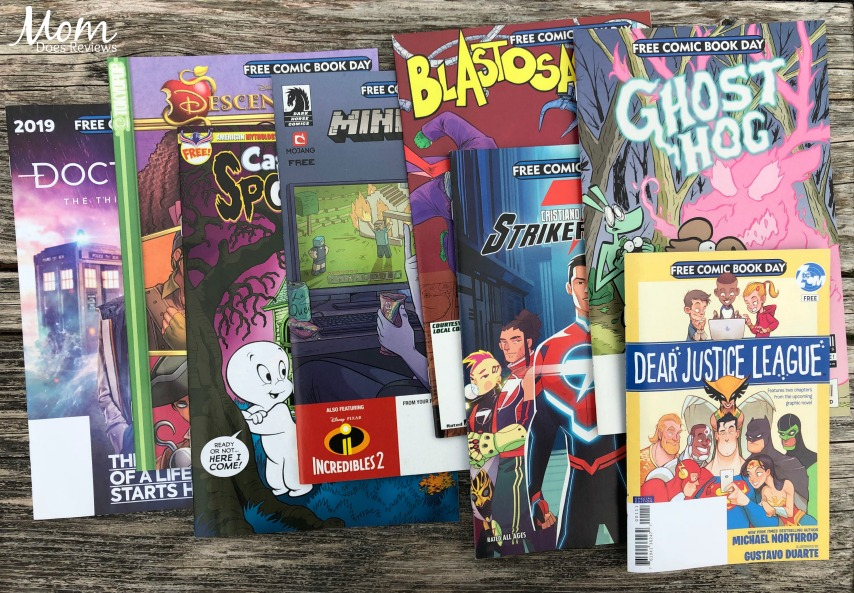 Get Comic Books for All Ages at Free Comic Book Day! #FCBD