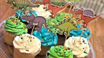 Dino party fun