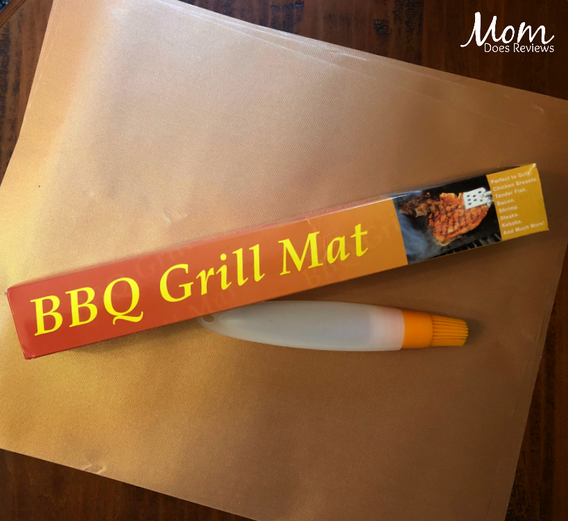 Give Mom YRYM HT Non-Stick Grill Mats! #GiftsforMom19